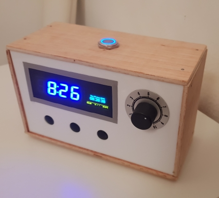 ESP8266 based smart alarm clock   xubec HQ